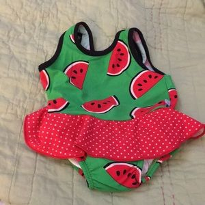 I play watermelon bathing suit